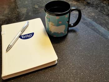 Finding Balance in the New Year {+Tetley Tea Giveaway}