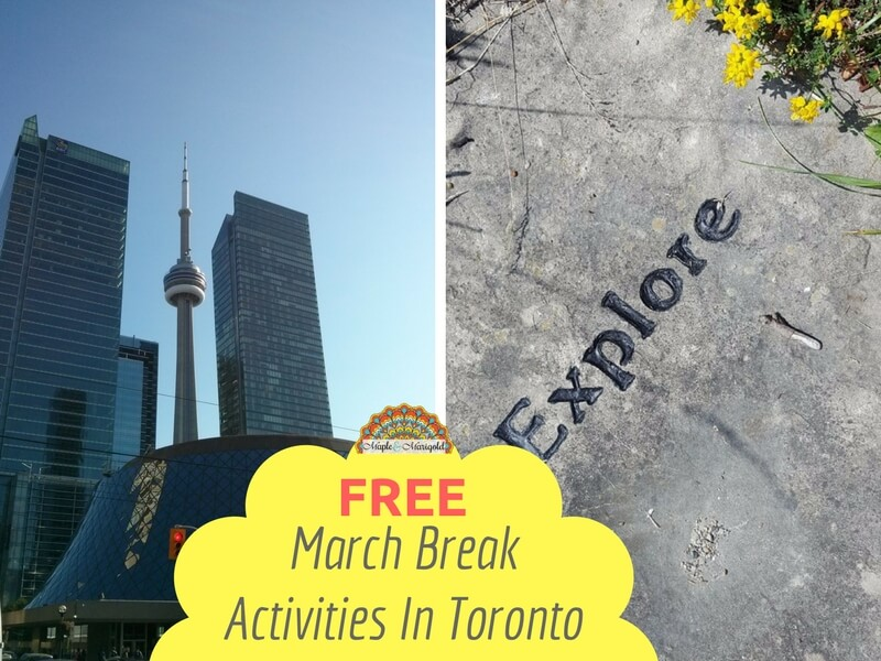 Family-friendly and fun winter things to do in Toronto | Free March Break Activities in Toronto | Things to do with kids in Toronto | Maple and Marigold