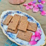Easy Diwali Sweet | Coconut Pecan Burfi | Maple and Marigold.com