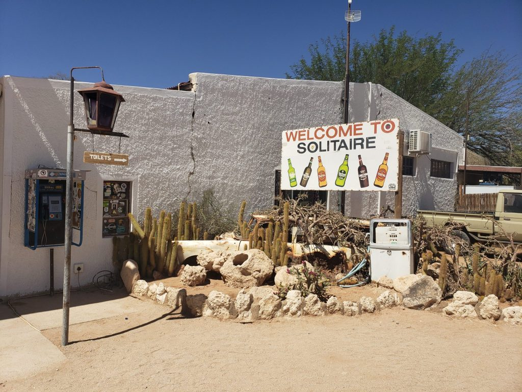Namibian Road Trip Solitaire