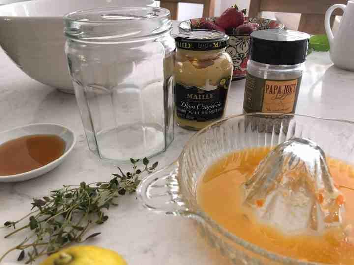 citrus vinaigrette ingredients