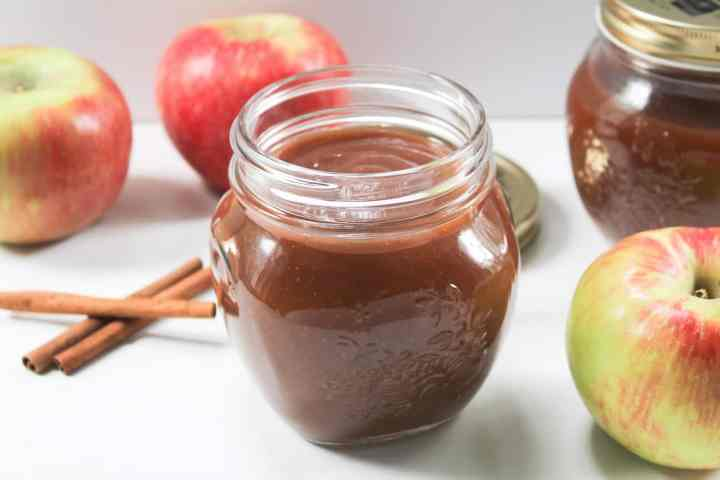 slow cooker maple apple butter