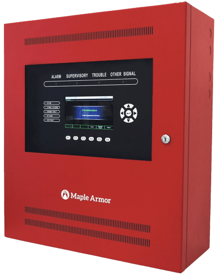 Intelligent and addressable Fire Alarm Control Panel