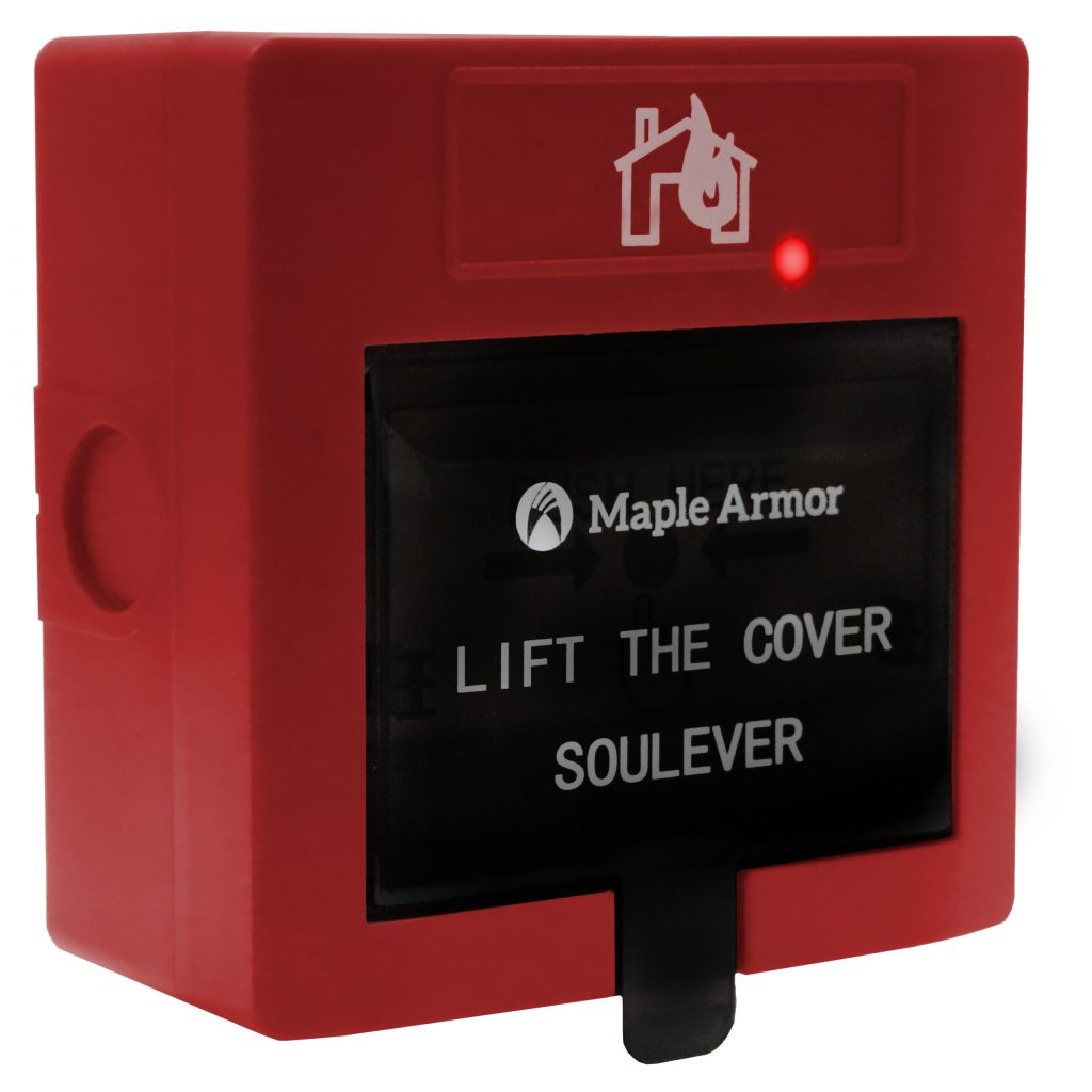 Addressable Fire Alarm Manual Pull Station FW722