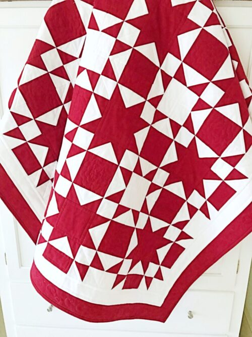 Starry Ribbons Quilt Pattern