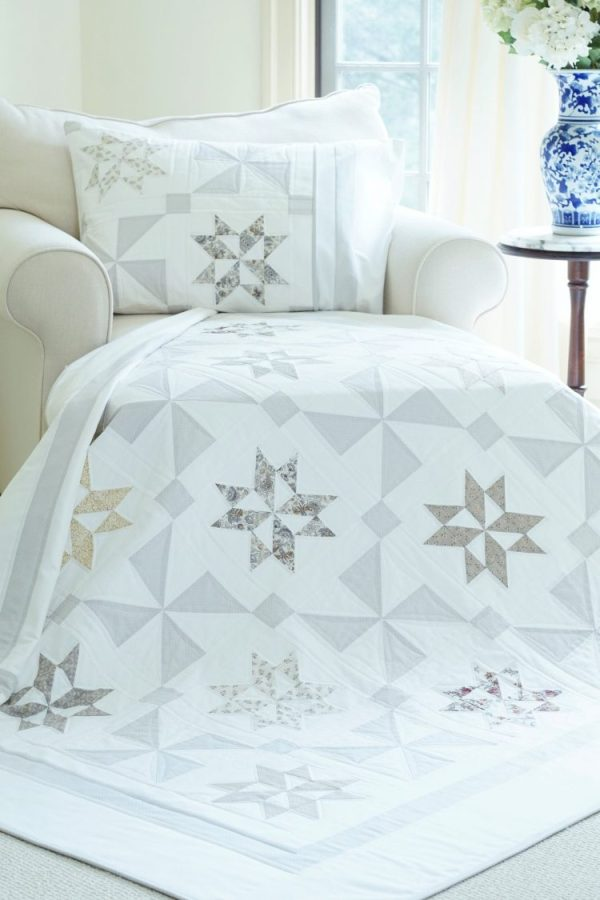 Stardust Shimmer Quilt Pattern pic