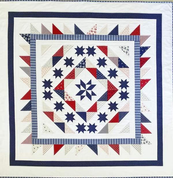 Stars & Stripes Celebration Quilt Pattern pic 4