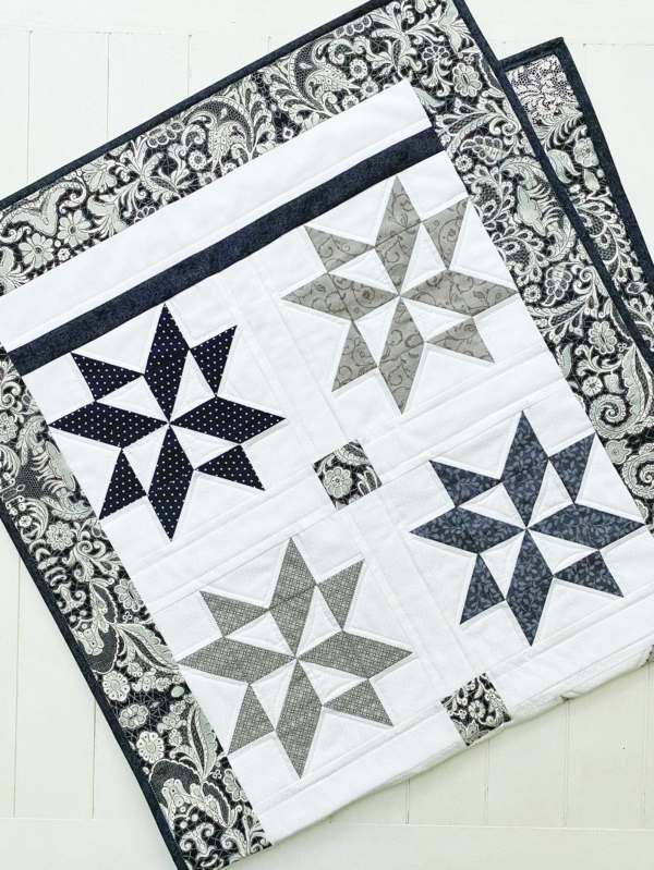 Stylish Star Puzzle Quilt pattern pic 3
