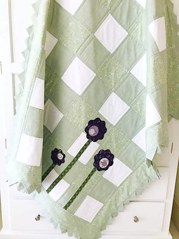 Gingham Check Days Quilt Pattern pic 2