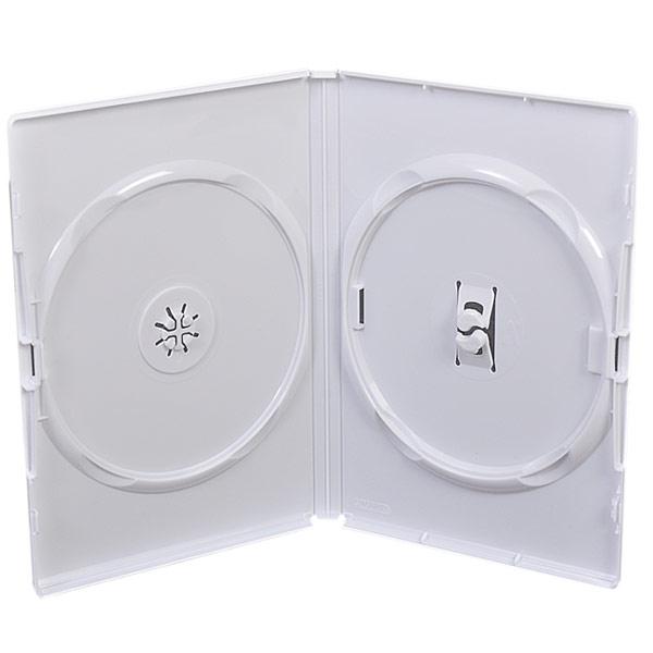 CD/DVD double white case