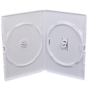 CD/DVD double white case