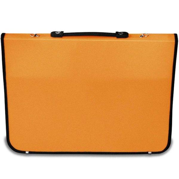 Academy Portfolio in orange