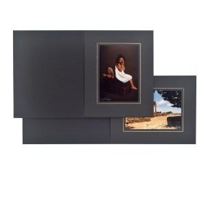 Fairfield black & gold folders