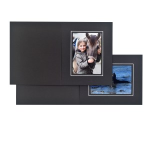 Fairfield black & white folders
