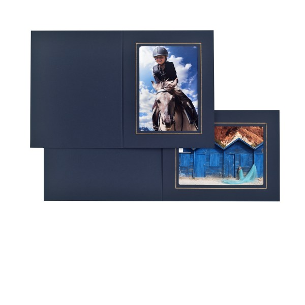 Fairfield blue & gold folders