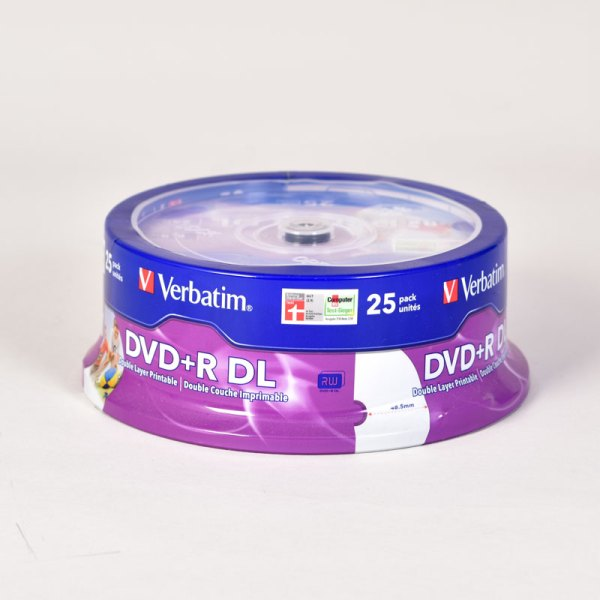 Verbatim PRINTABLE DVD+R DUAL LAYER