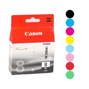 Canon 8 inkjet cartridges