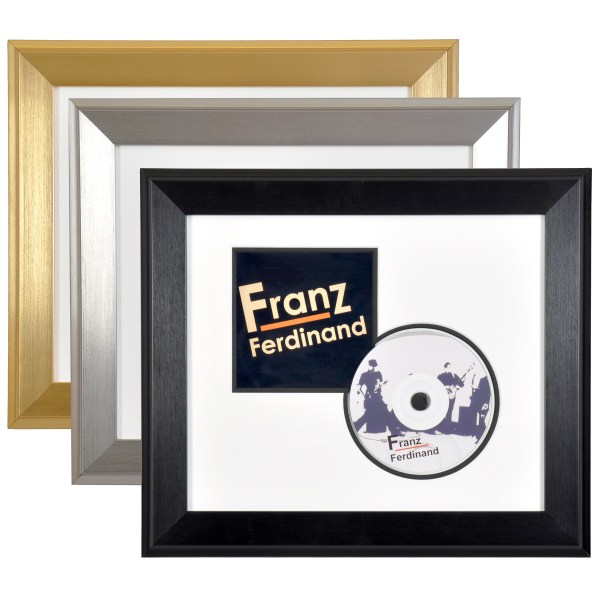 CD/DVD frame montage
