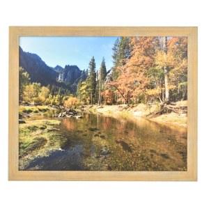 Francesca light wood frame without mount