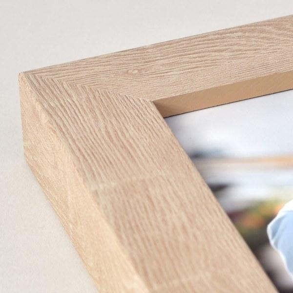 Francesca ash wood frame corner