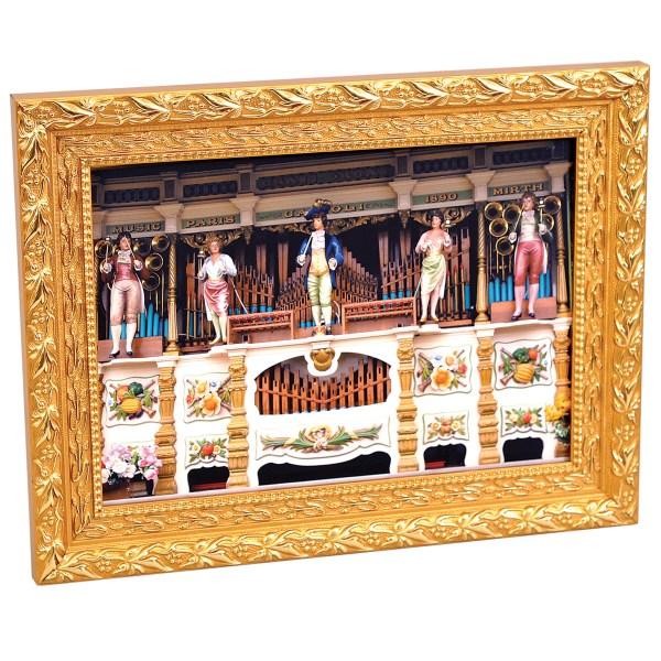 Florentina ornate gold real wood frame