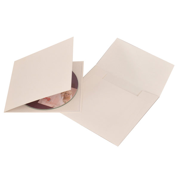 Ivory Single CD-DVD Folio