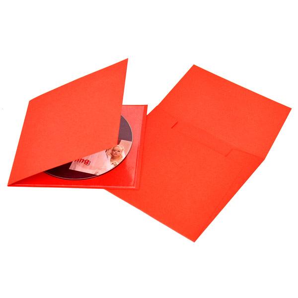 Red Single CD-DVD Folio