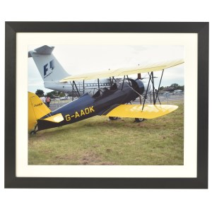 Festival black frame with mount