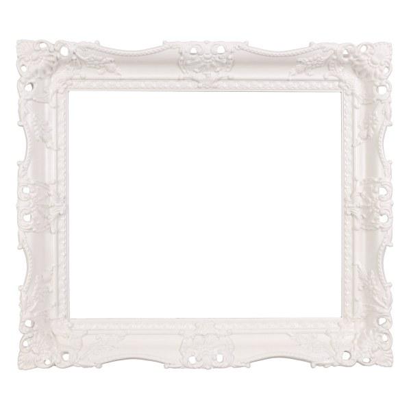 Swept frame 627 white
