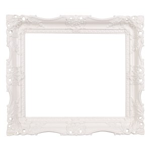 Swept frame 627 white