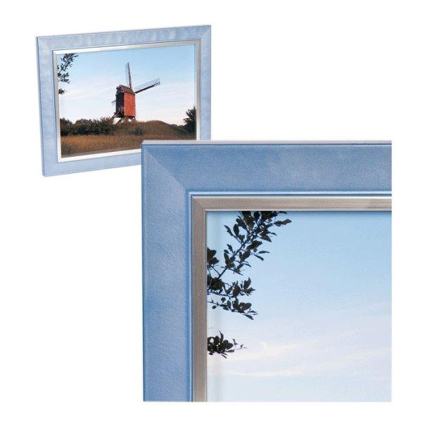 Felicia Pastel Blue High Gloss frame