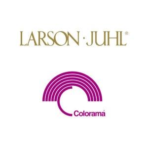 Larson Juhl and Colorama logos