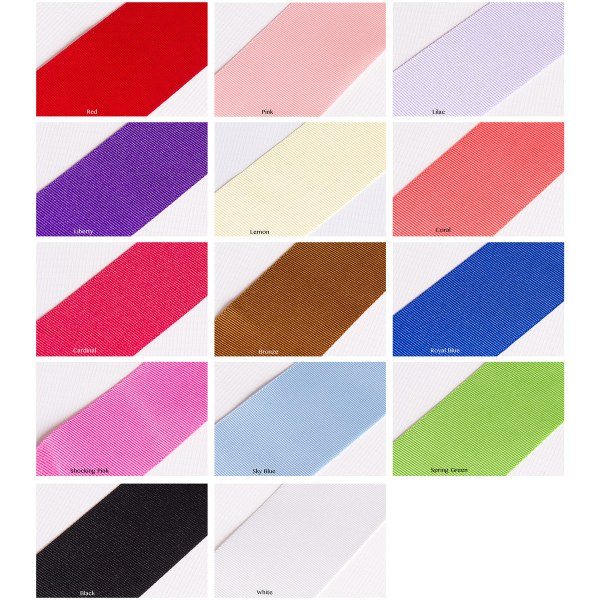Ribbon colours swatch
