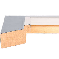 Felicia Pastel Grey High Gloss frame
