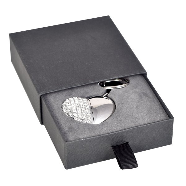 Slider flash drive presentation box in black