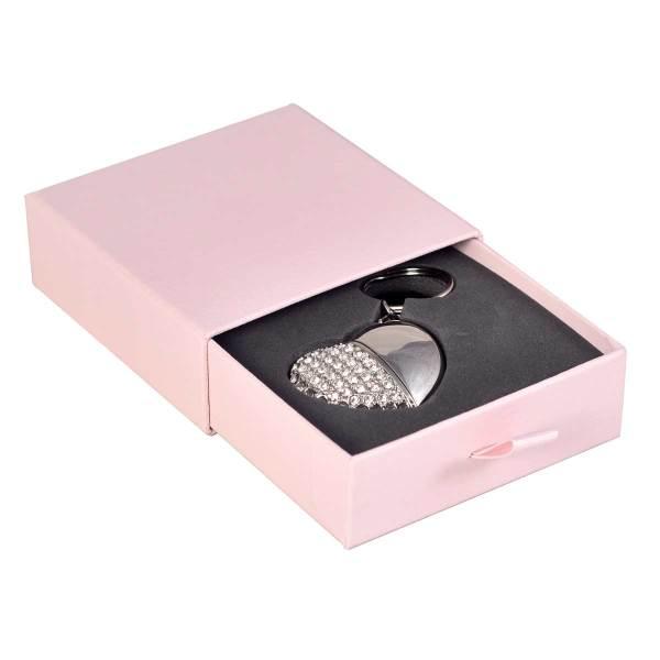 Slider flash drive presentation box in pink