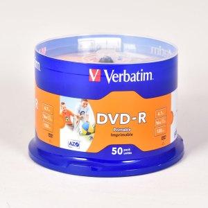 Verbatim PRINTABLE DVD-R DISCS