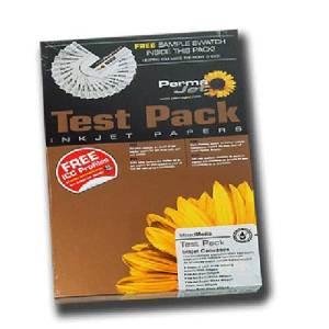 Pack 10 Permajet Mercury Ultra White Matt Canvas Photo Paper 405g A3 APJ24331