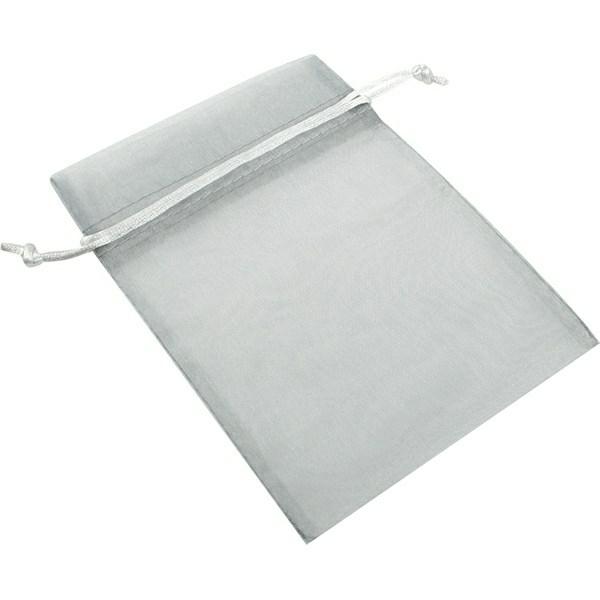 Silver Grey Organza Bag (optional)