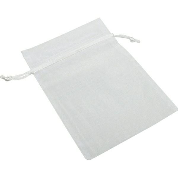 White Organza Bag (optional)