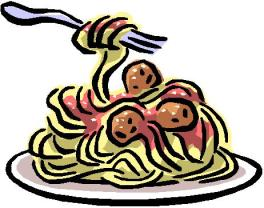 Spaghetti Dinner at Maple Grove Campground