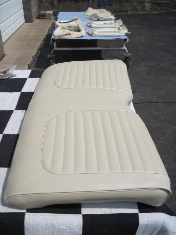 1965 Ford Mustang ConvertibleSeat upholstery  Maple Hill