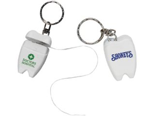 personalized dental floss keychains