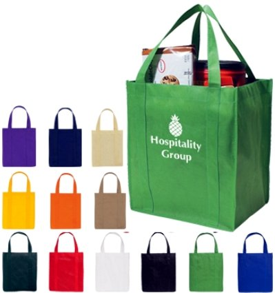 personalized shopper totes grocery