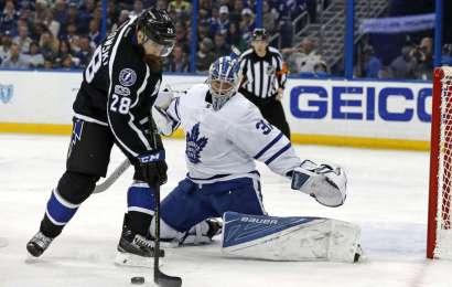 Týmový výkon dovedl Leafs k výhře na ledě Tampy Bay