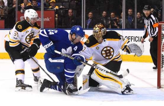 Leafs přetlačili Bruins