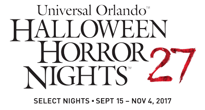 Halloween Horror Nights® 27 at Universal Orlando Resort