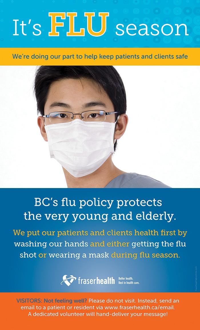 Shot or mask at B.C. hospitals during flu season – Maple Ridge News