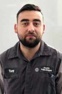 Tony Aguiar - Technician Apprentice