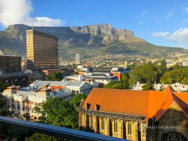 View from my room at Taj Cape Town Hotel
